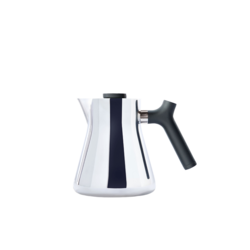 Fellow Raven Stovetop Kettle + Tea Steeper - Polished Stainless Steel