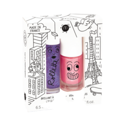 Nailmatic Kids Duo Set Lovely City