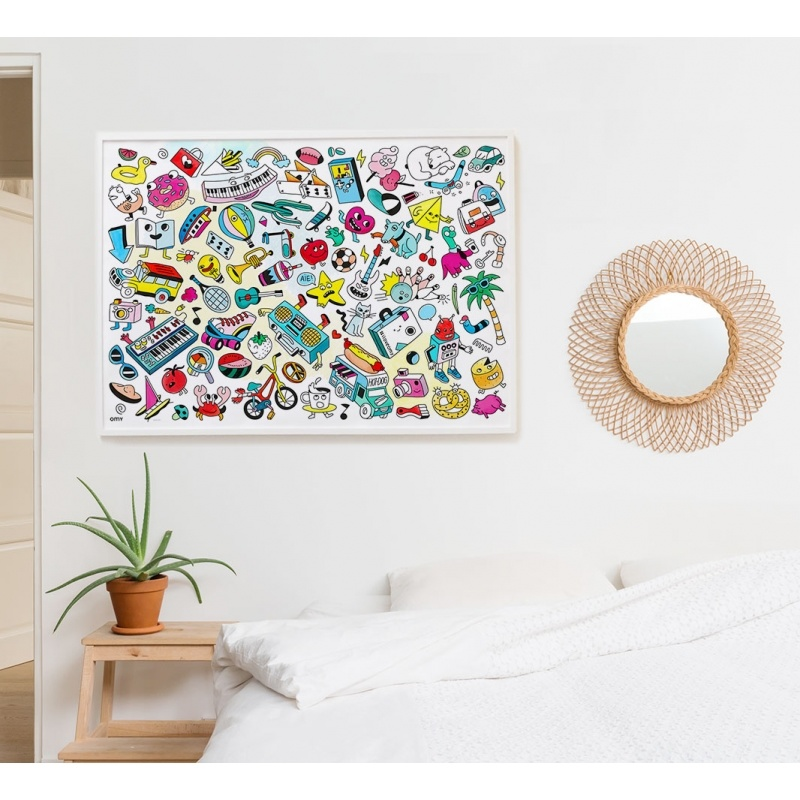 OMY Giant Colouring Poster - POP