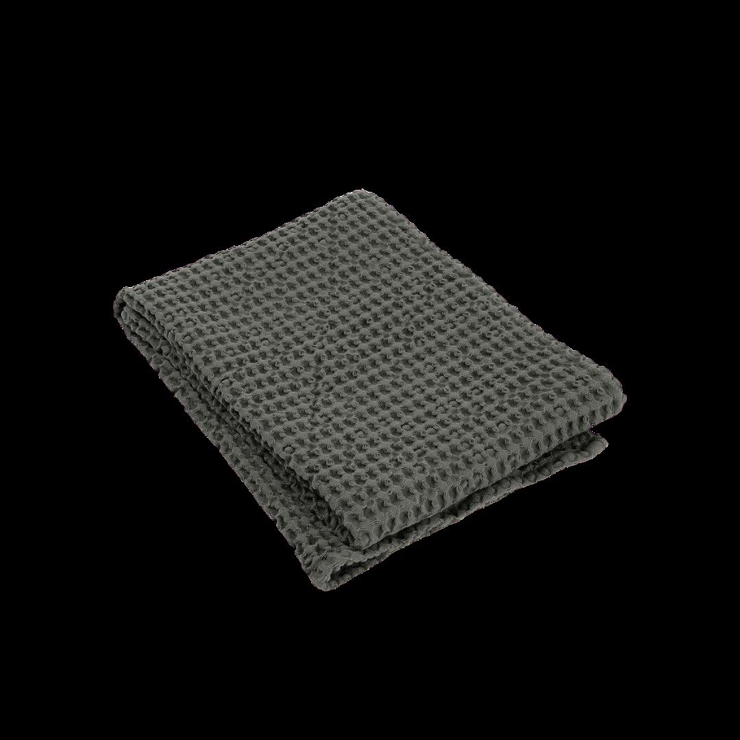Blomus Caro Waffle Bath Towel Agave Green 50 x 100 cm
