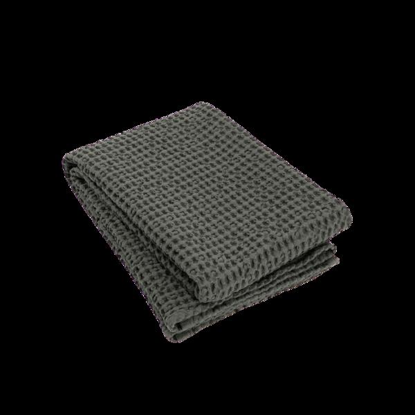 Blomus Caro Waffle Bath Towel Agave Green 70 x 140 cm