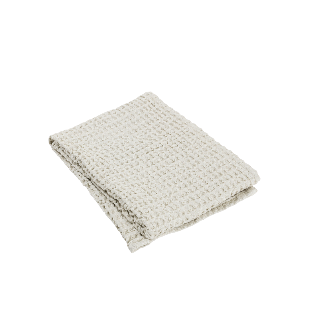 Blomus Caro Waffle Bath Towel Moonbeam 50 x 100 cm