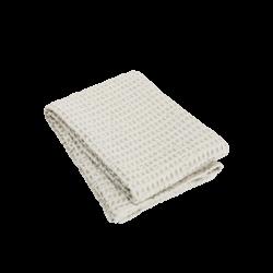 Blomus Caro Waffle Bath Towel Moonbeam 70 x 140 cm