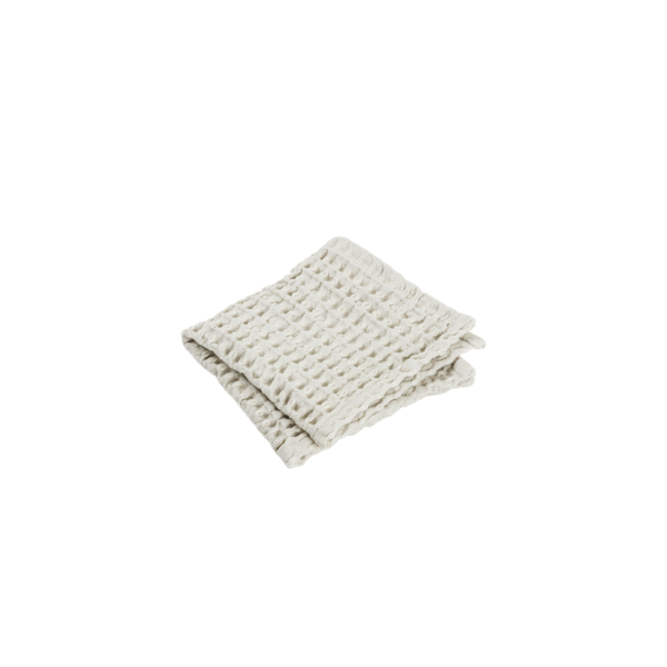 Blomus Caro Washcloth - 2pk Moonbeam