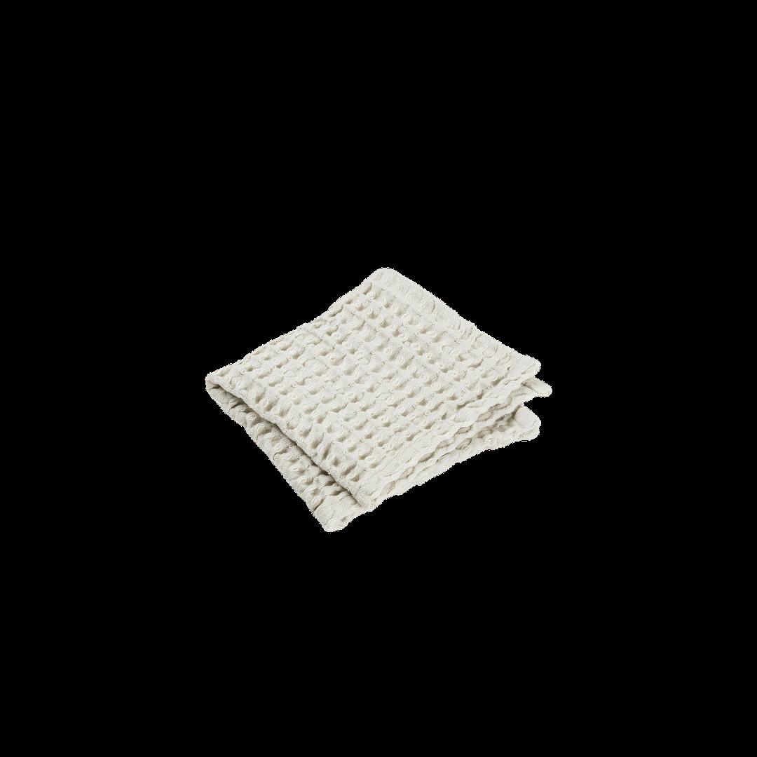 Blomus Caro Washcloth - 2pk Moonbeam