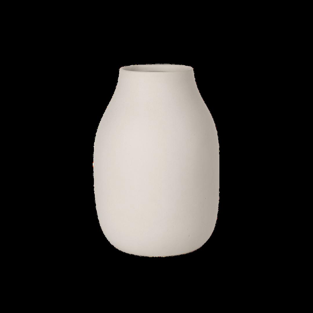 Blomus Colora Porcelain Vase  Moonbeam
