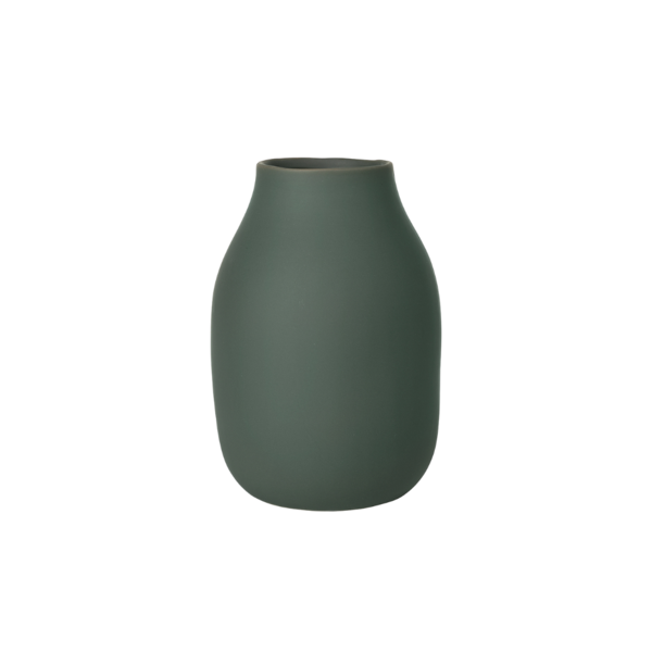 Blomus Colora Porcelain Vase Small Agave Green