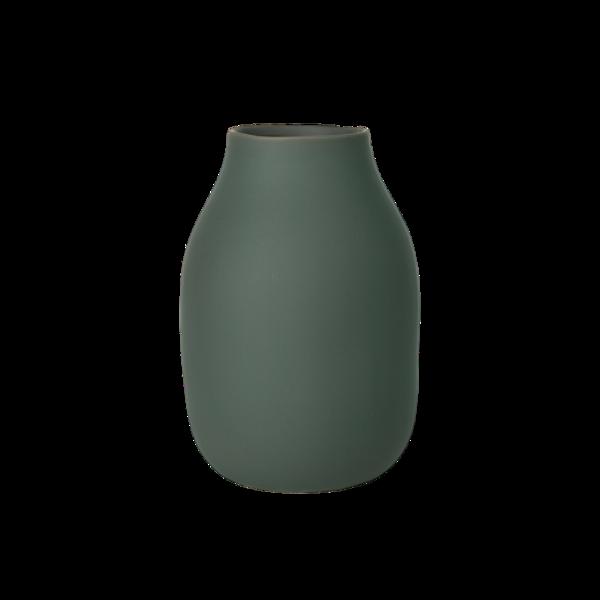 Blomus Colora Porcelain Vase  Agave Green