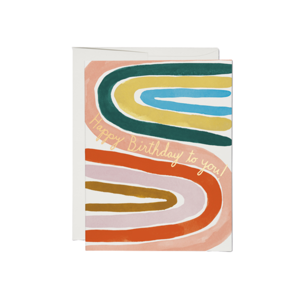 Red Cap Red Cap Greeting Cards Perfect Rainbow