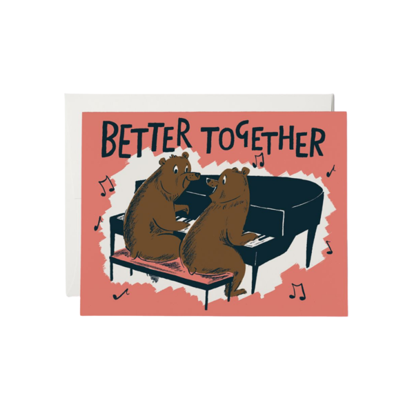 Red Cap Red Cap Greeting Cards Better Together Bears