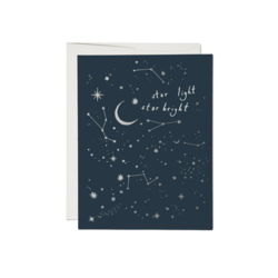 Red Cap Red Cap Greeting Cards Moon and Stars