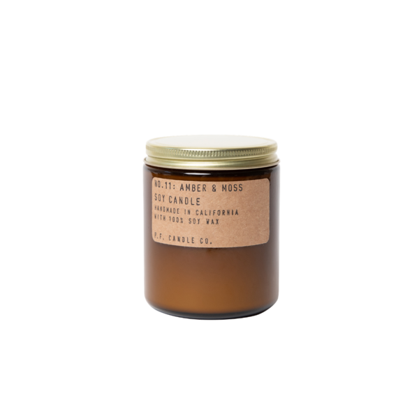 P. F. Candle Co. Soy Candle Amber & Moss - 7.2 Oz