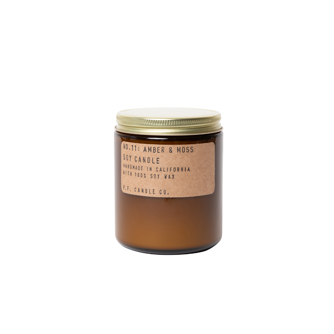 P. F. Candle Co. Amber & Moss Soy Candle