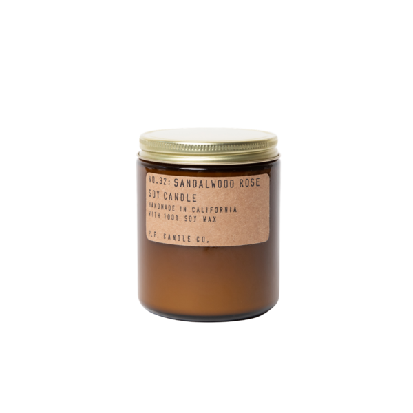 P. F. Candle Co. Sandalwood Rose Soy Candle