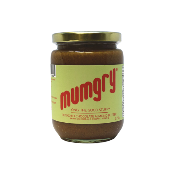 Mumgry Pistachio Chocolate Almond Butter