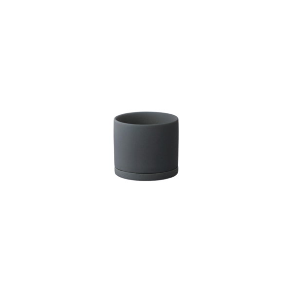Kinto Plant Pot 191 85mm - Dark Grey