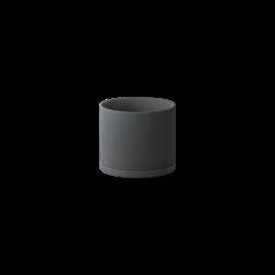 Kinto Plant Pot 191 105mm - Dark Grey