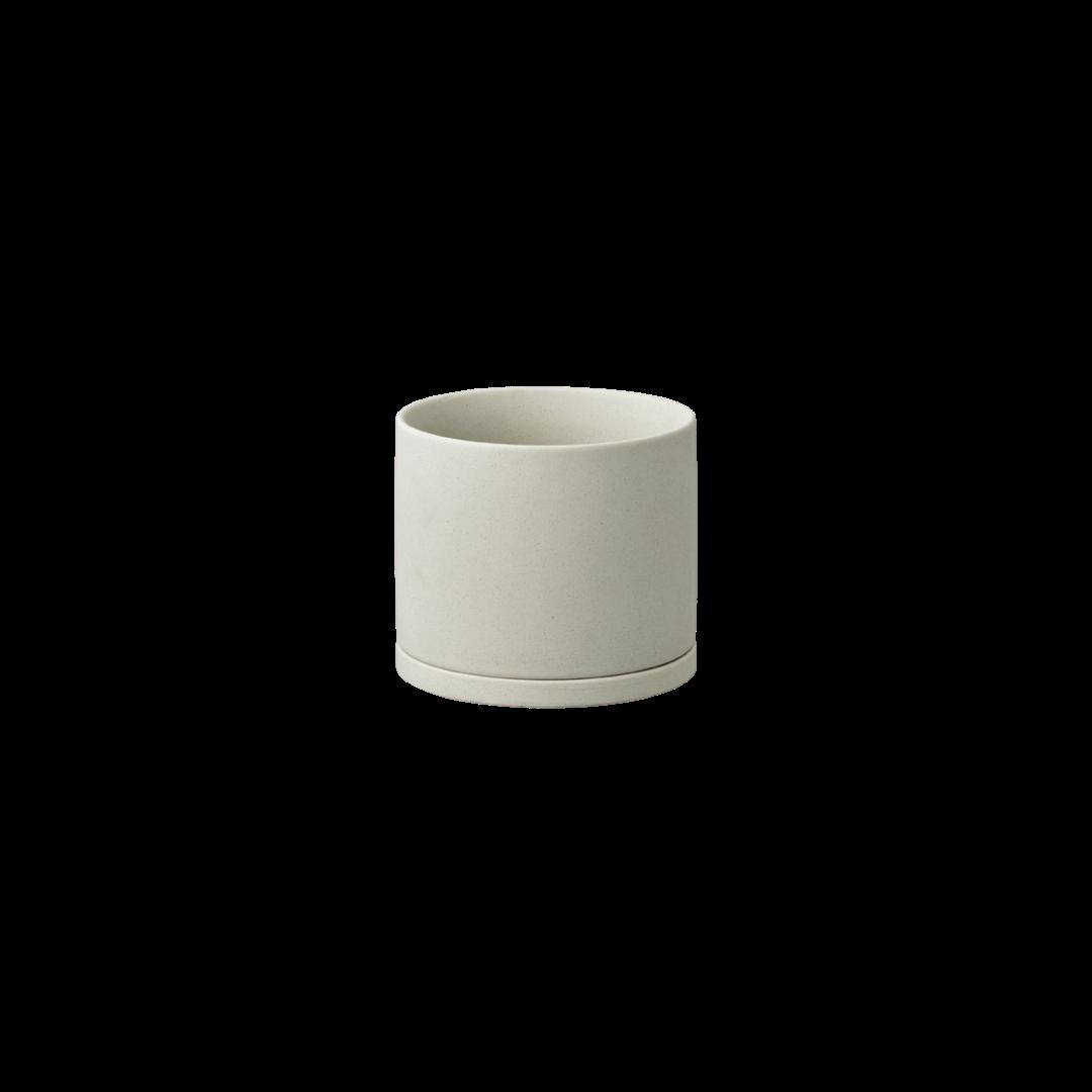 Kinto Plant Pot 191 105mm - Earth Grey