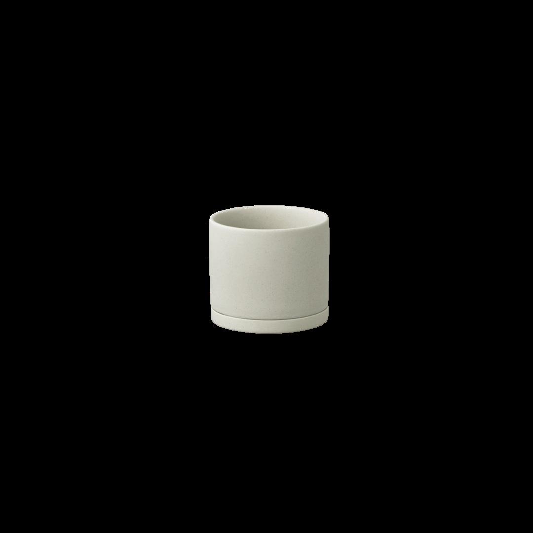 Kinto Plant Pot 191 85mm - Earth Grey