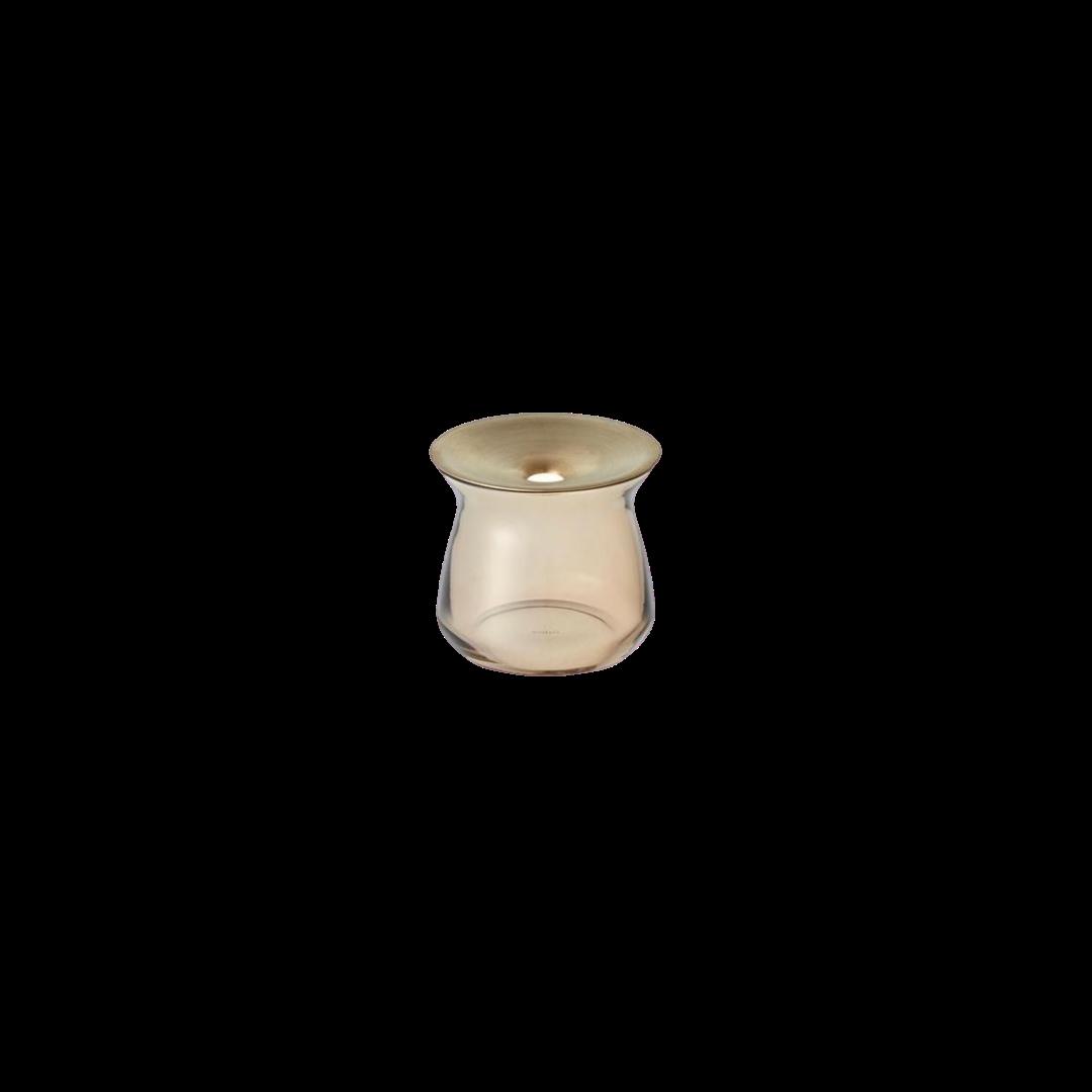 Kinto Luna Brown Vase 80x70mm