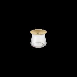 Kinto Luna Clear Vase 80x70mm