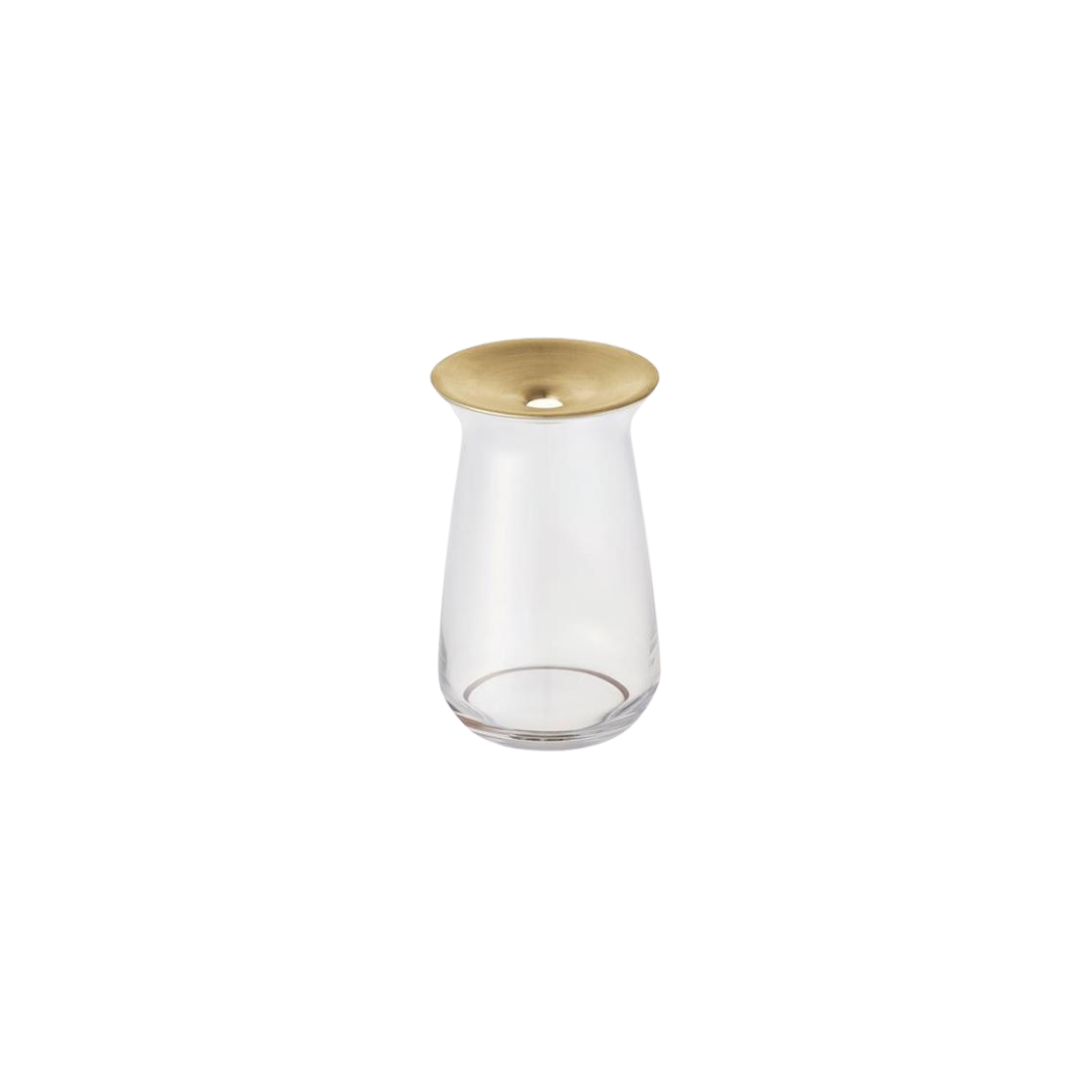 Kinto Luna Clear Vase 80x130mm