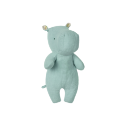 Maileg Safari Friends Small Hippo - Aqua