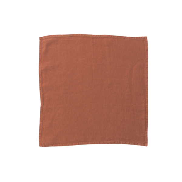 Hawkins New York Simple Linen Placemat - Terra Cotta