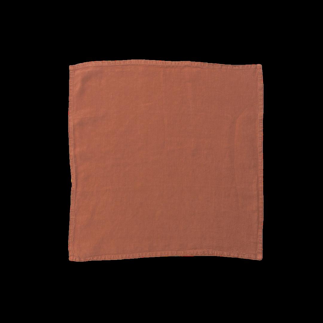Hawkins New York Simple Linen Placemat - Terra Cotta