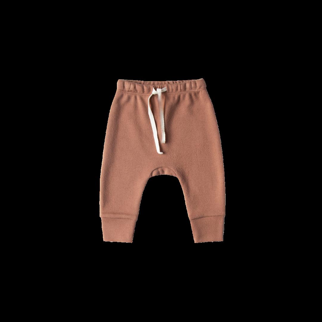 Quincy Mae Drawstring Pant - Clay