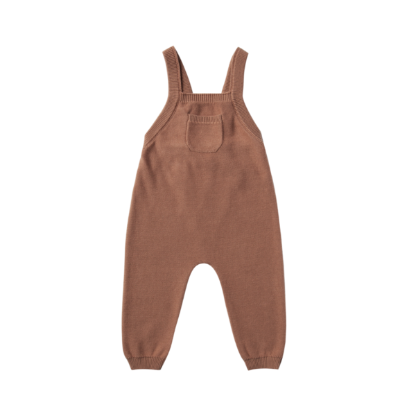Quincy Mae Knit Overall - Clay