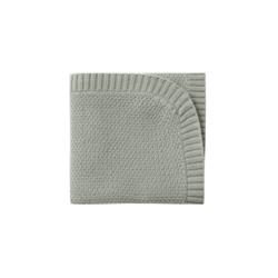 Quincy Mae Chunky Knit Baby Blankets - Sage