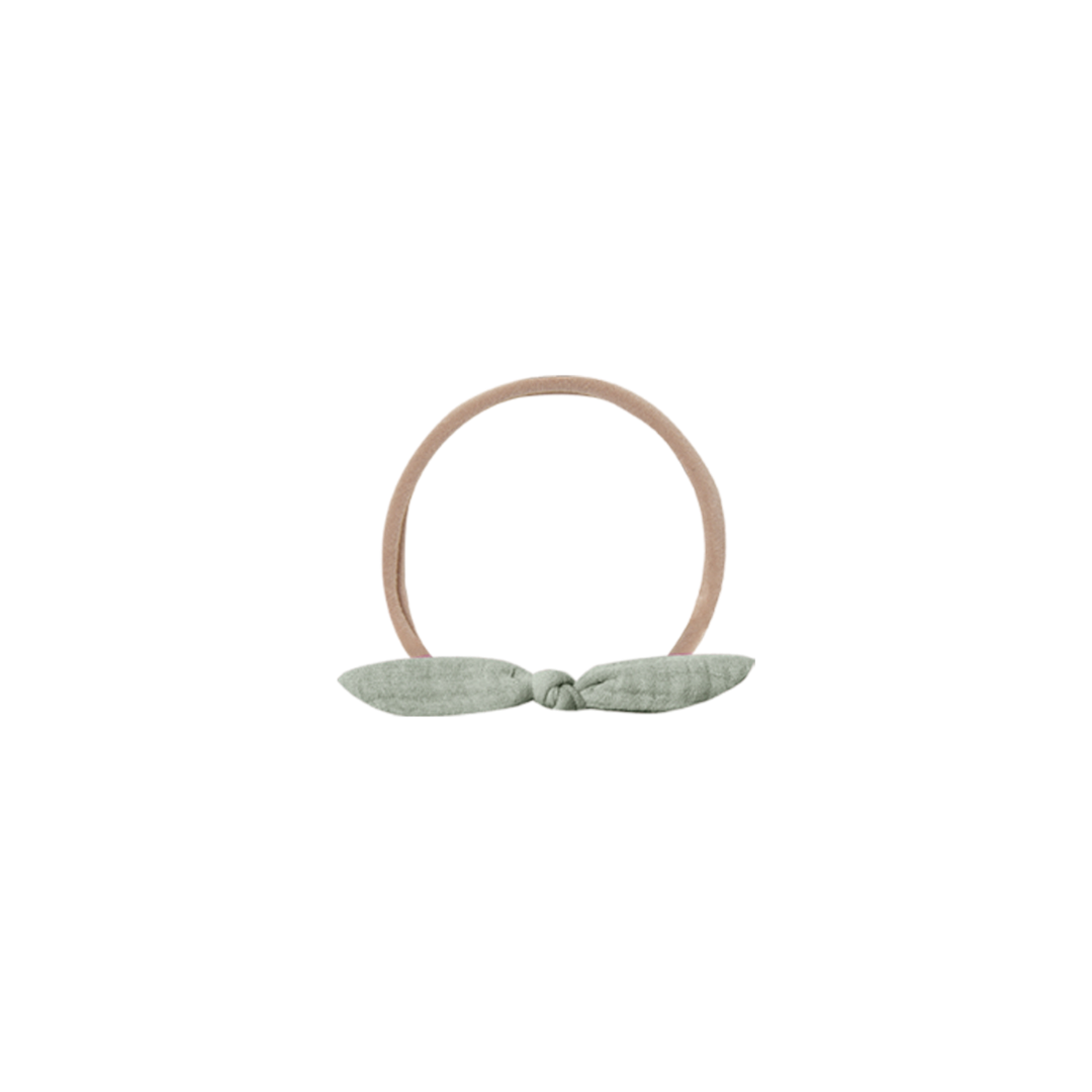 Quincy Mae Quincy Mae Little Knot Headband - Sage