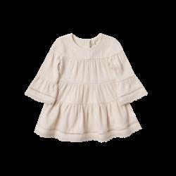 Quincy Mae Belle Dress - Pebble