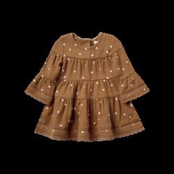 Quincy Mae Belle Dress - Walnut