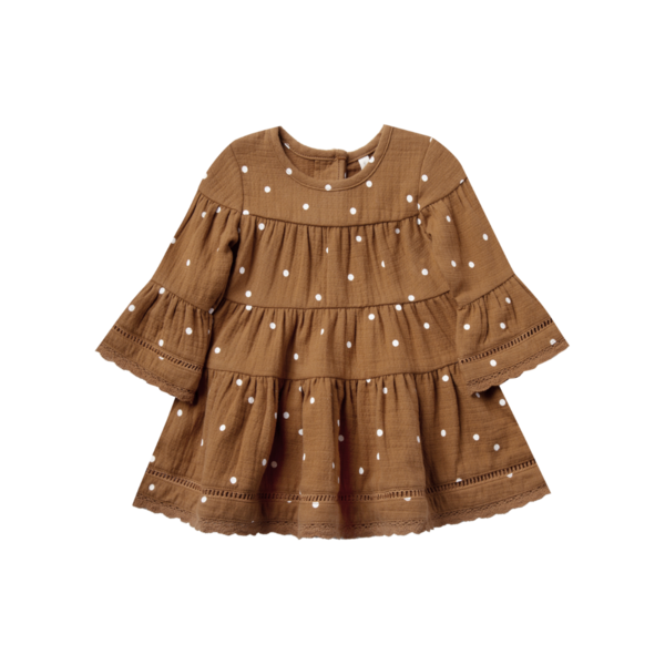 Quincy Mae Belle Dress - Walnut