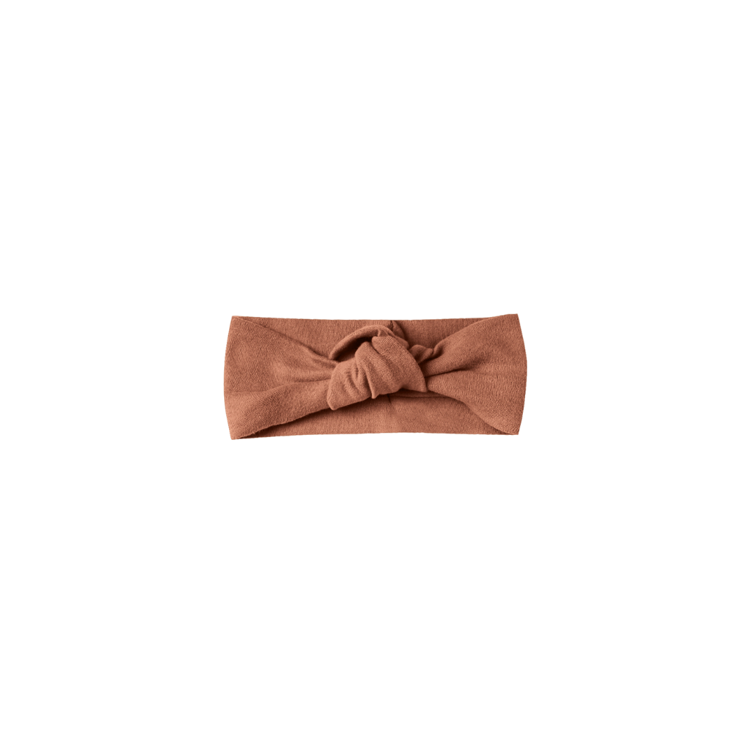 Quincy Mae Baby Turban - Clay