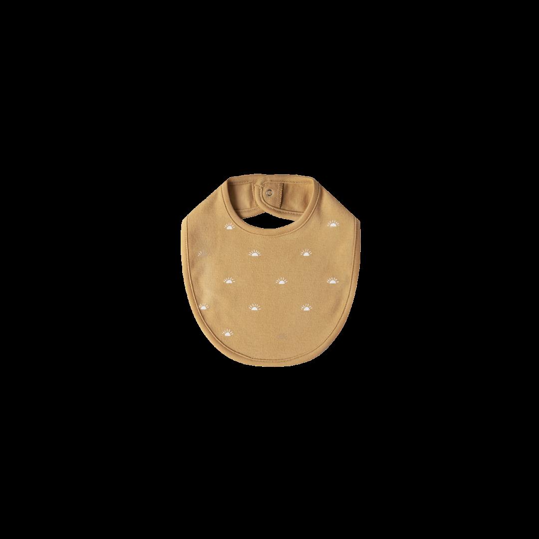 Quincy Mae Snap Bib- Honey One Size