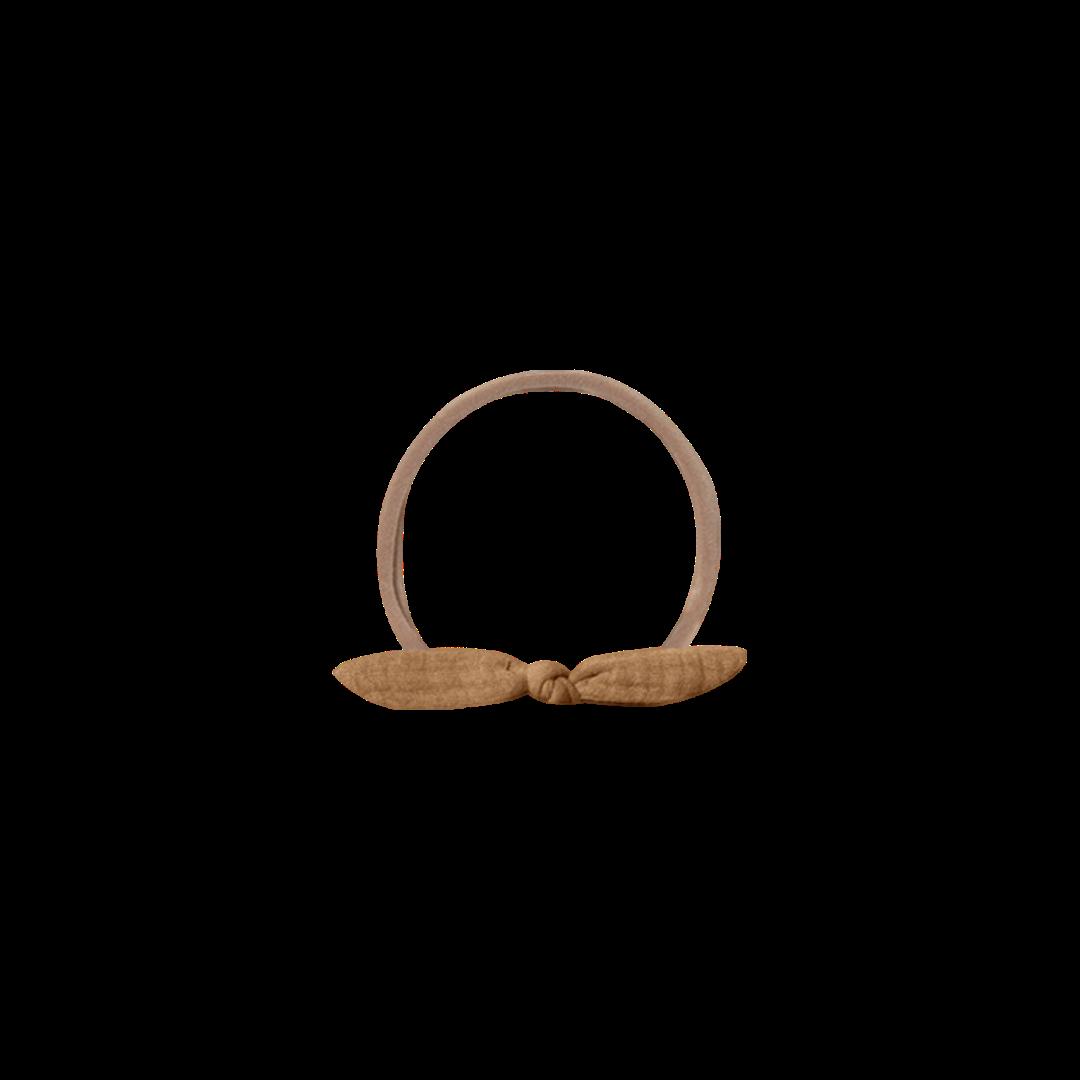 Quincy Mae Quincy Mae Little Knot Headband - Walnut