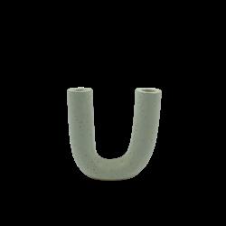 Lisa Warren Ceramics Yew Vase - Speckled White