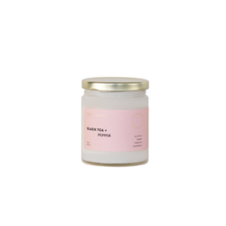 Homecoming Black Tea + Pepper Soy Candle