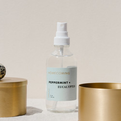 Homecoming Peppermint + Eucalyptus Home Mist