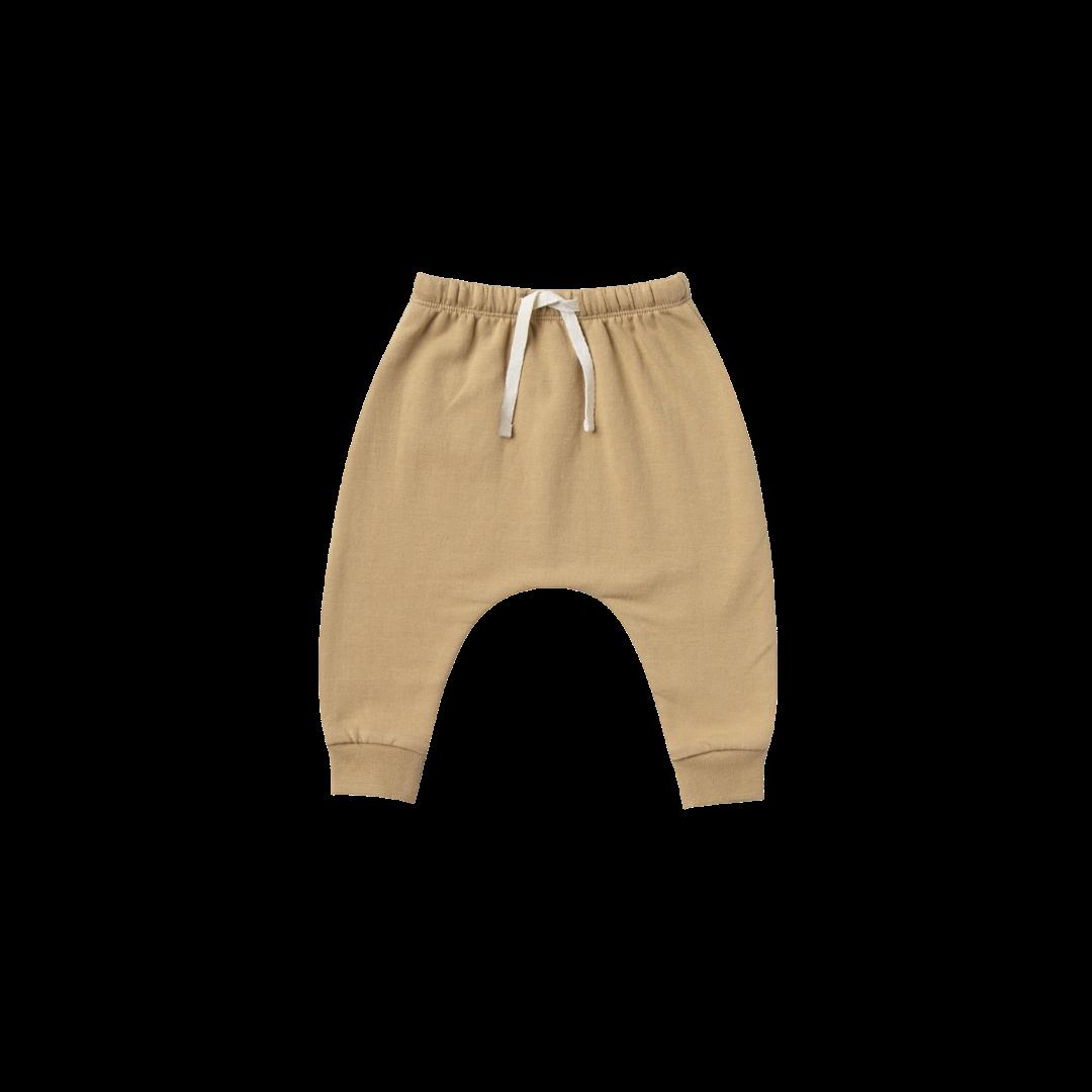 Quincy Mae Terry Cloth Sweatpant - Honey