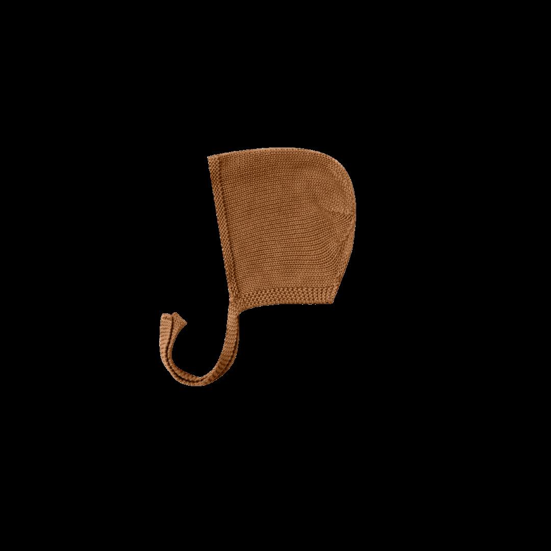 Quincy Mae Knit Bonnet - Walnut