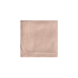 Quincy Mae Chunky Knit Baby Blanket - Petal