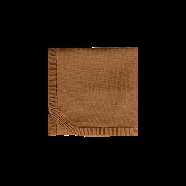 Quincy Mae Chunky Knit Baby Blankets - Walnut