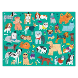 Mudpuppy Cats & Dogs 100 pc Double Sided Puzzle