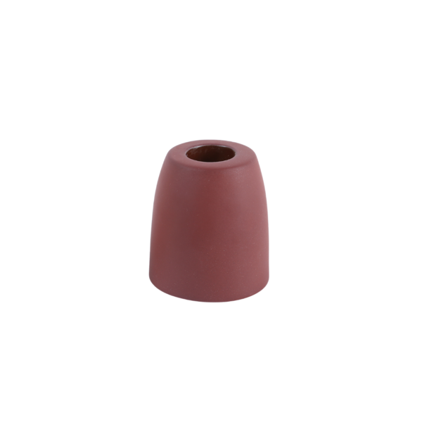 The Floral Society Petite Ceramic Taper Holder Cone - Earth