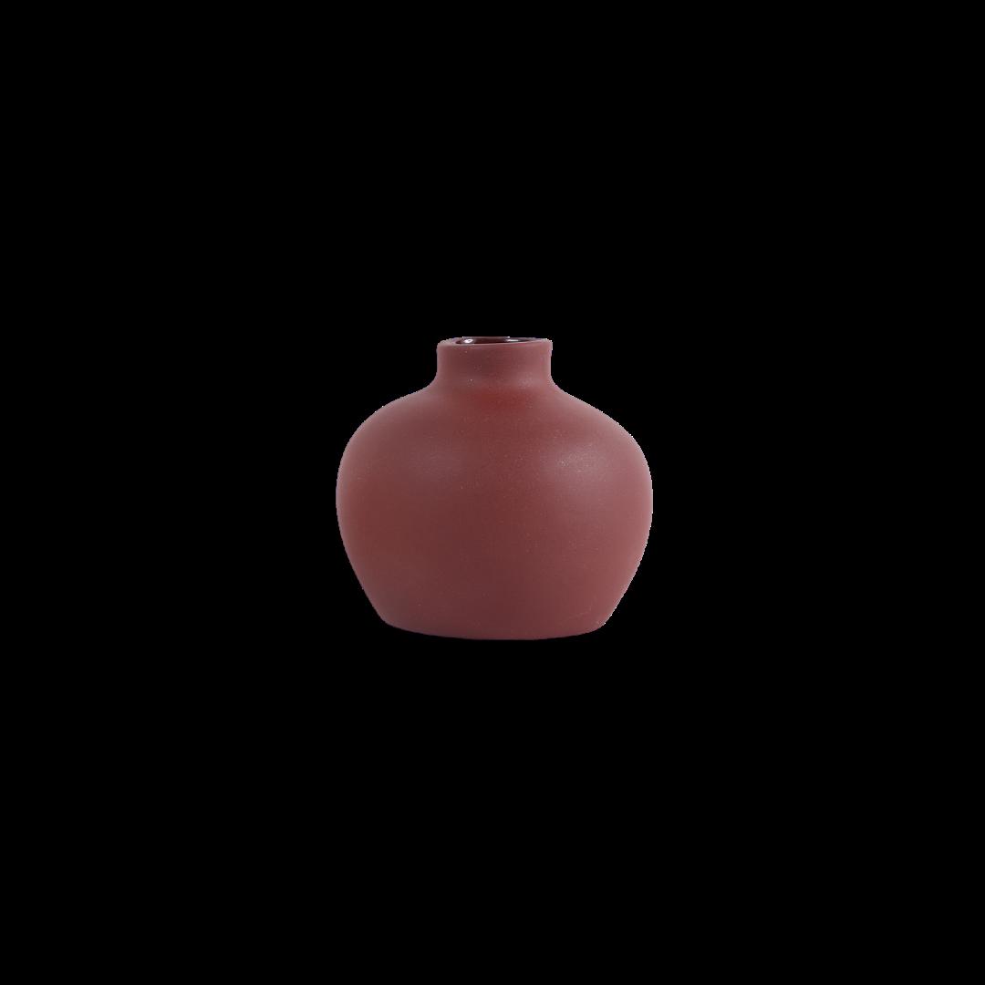 The Floral Society Ceramic Blossom Vase - Earth