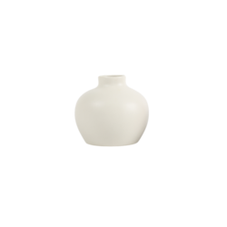 The Floral Society Ceramic Blossom Vase - Matte White